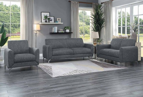 Venture Sofa Set - Dark gray