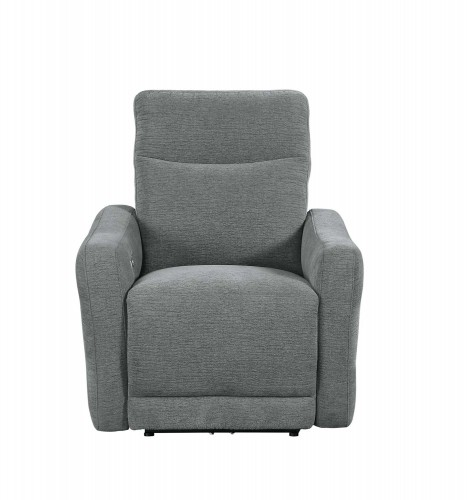 Edition Power Lay Flat Reclining Chair with Power Headrest - Dove