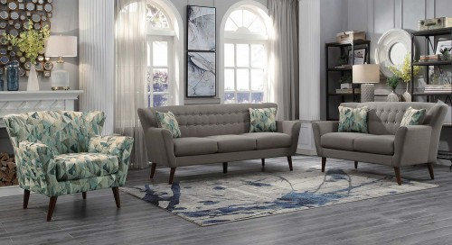 Maja Sofa Set - Gray