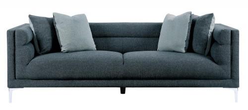 Vernice Sofa - Dark blue gray