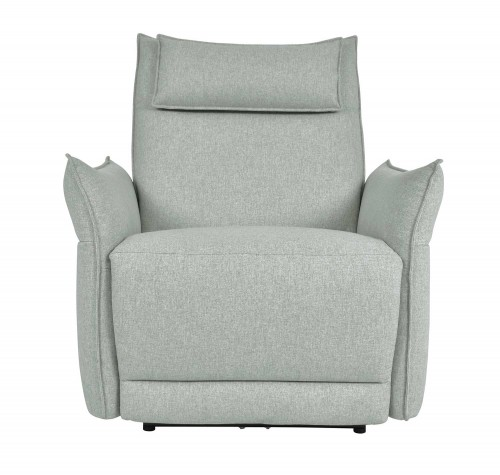 Homelegance Linette Power Reclining Chair with Power Headrest - Ocean