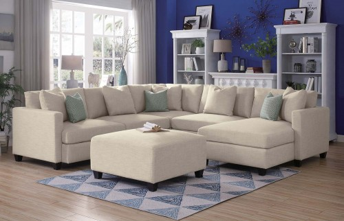 Southgate Sectional Sofa Set - Ivory