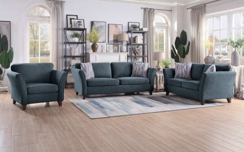 Barberton Sofa Set - Dark gray