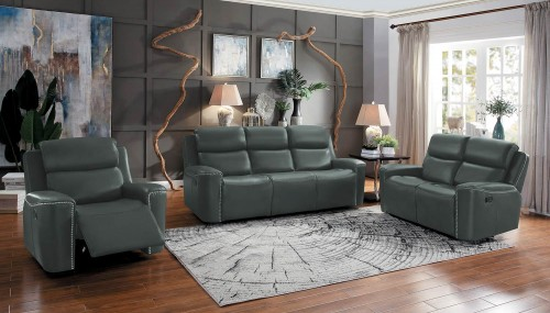 Altair Reclining Sofa Set - Gray