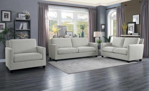 Pickerington Sofa Set - Light gray
