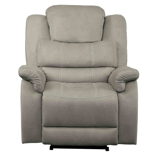 Shola Power Reclining Chair with Power Headrest - Gray