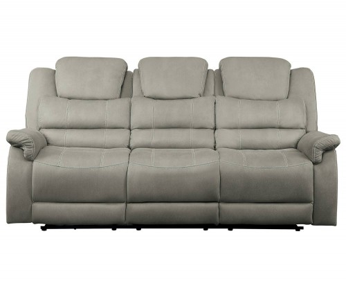 Shola Power Reclining Sofa Set - Gray