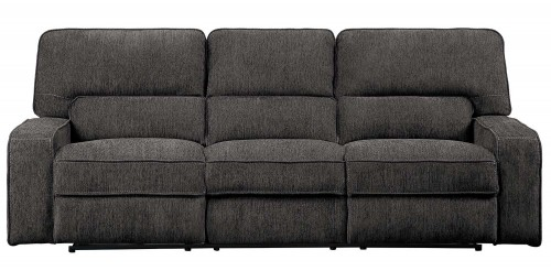 Borneo Power Reclining Sofa Set - Chocolate