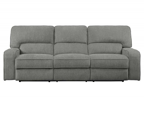 Borneo Double Reclining Sofa - Mocha