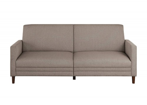 Layanna Click Clack Sofa - Brown
