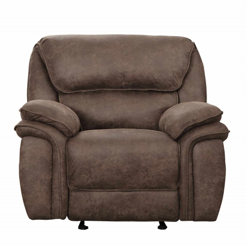 Hadden Power Reclining Chair - Dark Brown