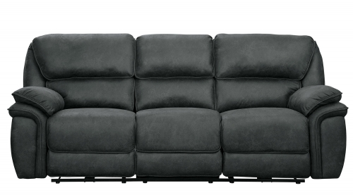 Hadden Power Double Reclining Sofa - Gray