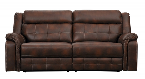 Keridge Double Reclining Sofa - Brown