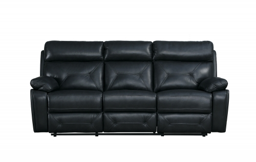 Resonance Double Reclining Sofa - Dark Gray