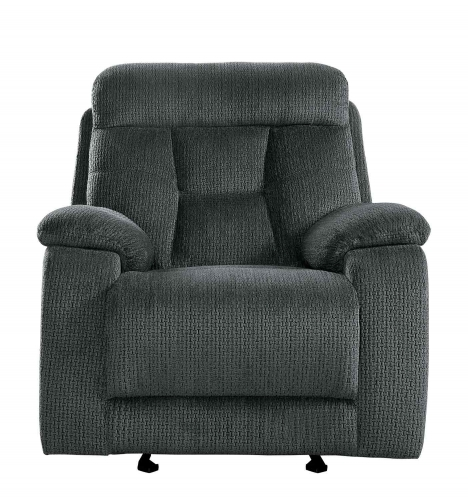 Homelegance Rosnay Glider Reclining Chair - Gray