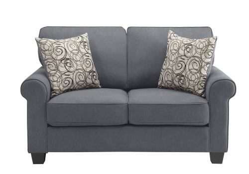 Selkirk Love Seat - Gray