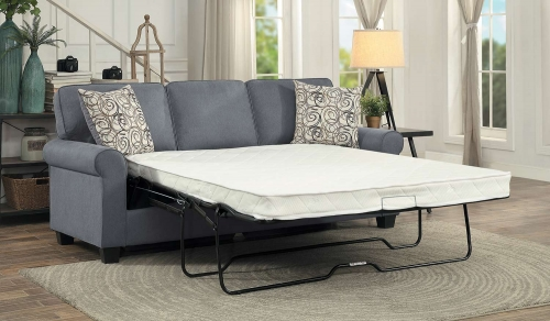 Selkirk Sleeper Sofa With Sleeper Mattress - Gray