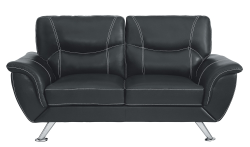 Jambul Love Seat - Black