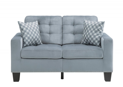 Lantana Love Seat - Gray