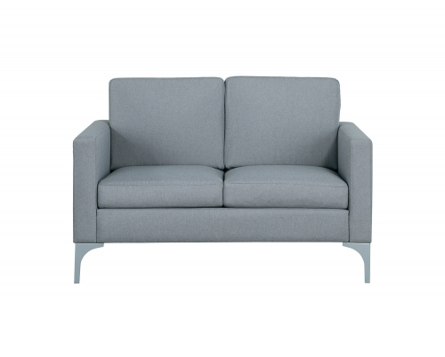 Soho Love Seat - Light Gray