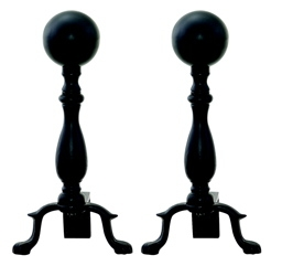 Black Ball Andiron-Uniflame