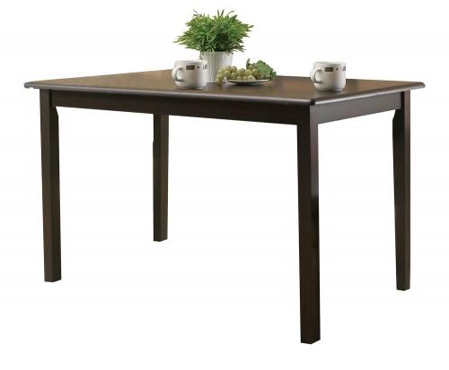 Serra II Dining Table - Cappuccino