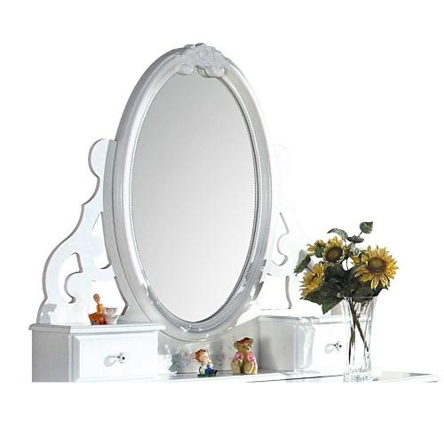 Flora Jewelry Mirror - White