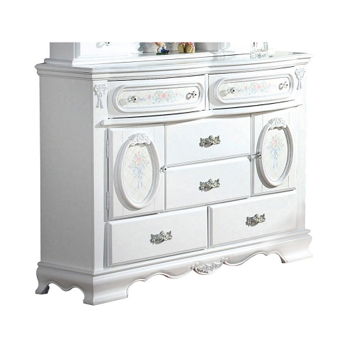 Flora Door Dresser - White