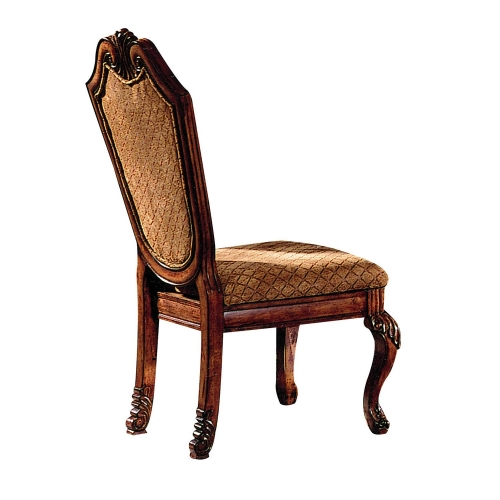 Chateau De Ville Side Chair - Fabric/Cherry