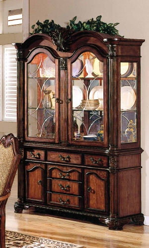 Chateau De Ville Hutch and Buffet - Cherry