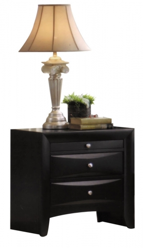 Ireland Nightstand - Black