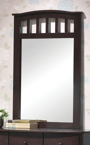 San Marino Mirror - Dark Walnut