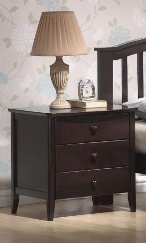 San Marino Nightstand - Dark Walnut