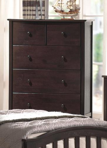 San Marino Dresser - Dark Walnut