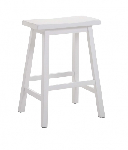 Gaucho Counter Height Stool - White