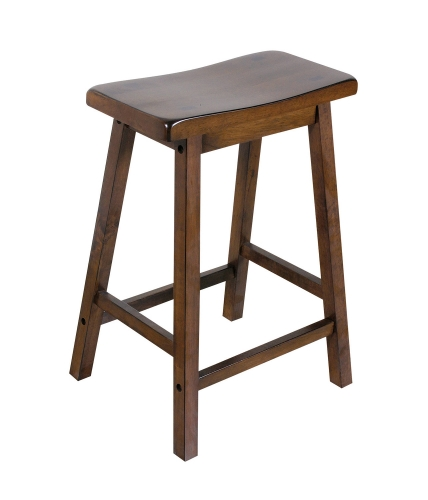 Gaucho Counter Height Stool - Walnut