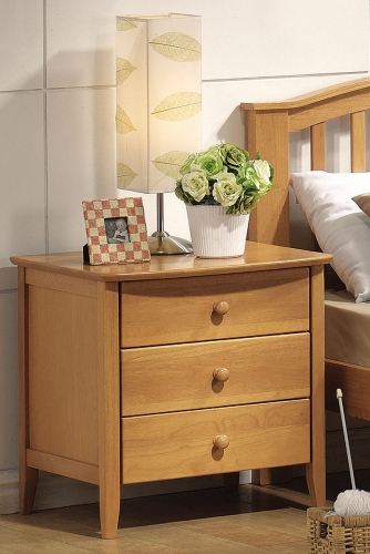 San Marino Nightstand - Maple