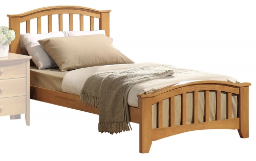 San Marino Bed - Maple