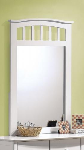 Acme San Marino Mirror - White
