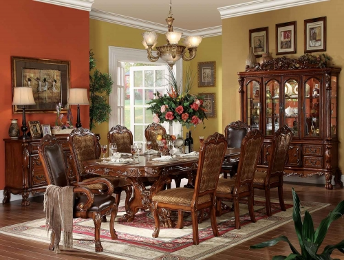 Acme Dresden Dining Set - Cherry Oak