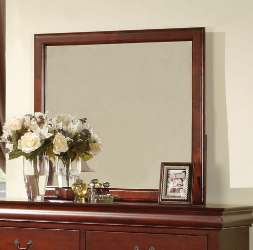 Louis Philippe III Mirror - Cherry