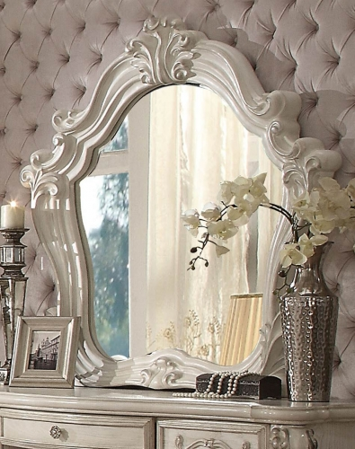 Acme Versailles Mirror - Bone White