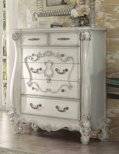 Acme Versailles Chest - Bone White