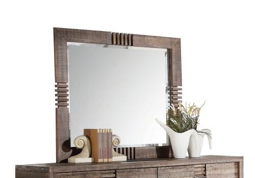 Andria Mirror - Reclaimed Oak