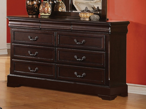 Roman Empire II Dresser - Cherry