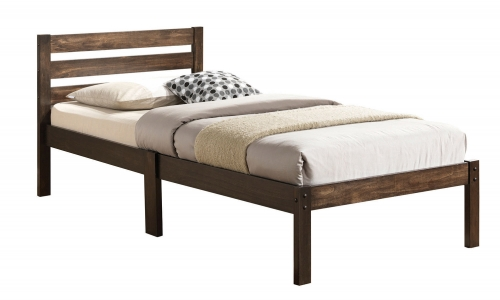 Donato Twin Bed - Ash Brown