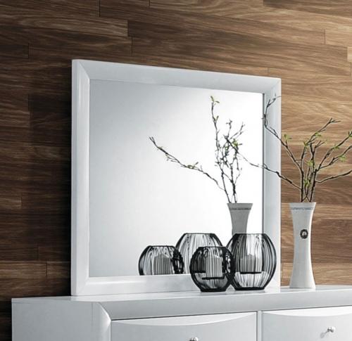 Acme Ireland Mirror - White