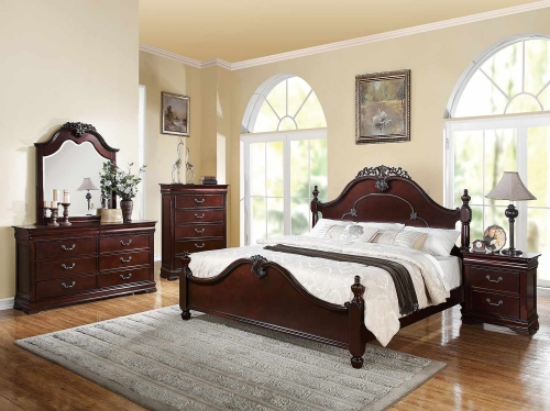 Gwyneth Bedroom Set - Cherry