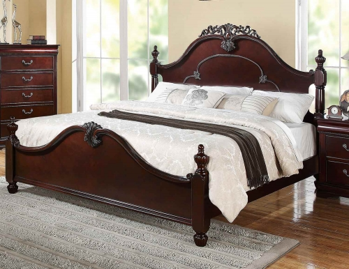 Gwyneth Bed - Cherry