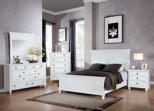 Merivale Bedroom Set - White